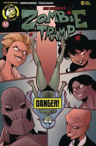 [Zombie Tramp: Ongoing #82 (Cover B Maccagni Risque) (Product Image)]