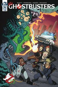 [Ghostbusters 35th Anniversary: Real Ghostbusters (Ferreira) (Product Image)]