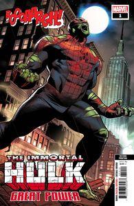 [Immortal Hulk: Great Power #1 (2nd Printing Molina Variant) (Product Image)]