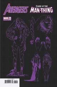 [Avengers: Curse Man-Thing #1 (Carnero Design Variant) (Product Image)]