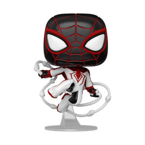 [Marvel's Spider-Man: Miles Morales: Pop! Vinyl Figure: Miles Morales Tracksuit (Product Image)]