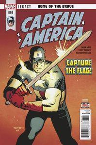 [Captain America #696 (2nd Printing Samnee Variant) (Legacy) (Product Image)]