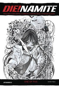 [Die!Namite #1 (Momoko Vampirella Zombie Living Dead Gray Variant) (Product Image)]