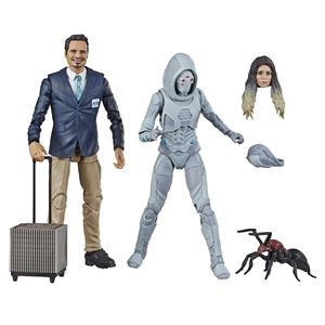 [Ant-Man & The Wasp: Marvel Legends 80th Anniversary Action Figure: Ghost & Luis 2-Pack (Product Image)]