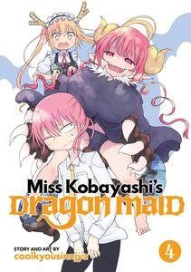 [Miss Kobayashi's Dragon Maid: Volume 4 (Product Image)]