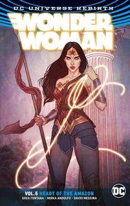[Wonder Woman: Volume 5: Heart Of The Amazon (Rebirth) (Product Image)]