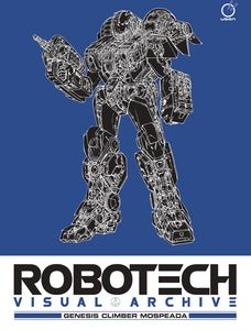 [Robotech Visual Archive: Genesis Climber Mospeada (Hardcover) (Product Image)]