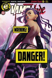 [Vampblade: Season 4 #10 (Cover D Joe Pekar Risque) (Product Image)]