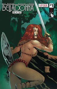 [Belladonna: Fire Fury #1 (Superior Vintage Maiden) (Product Image)]
