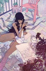 [Many Deaths Of Laila Starr #4 (Cover D Unlockable Cagle Virgin Variant) (Product Image)]
