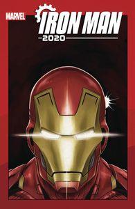 [Iron Man: 2020 #6 (Superlog Heads Variant) (Product Image)]