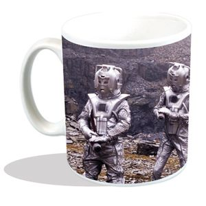 [Doctor Who: Mug: Classic Cybermen Planet Surface (Product Image)]