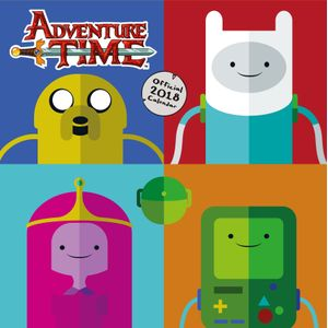 [Adventure Time: 2018 Square Calendar (Product Image)]