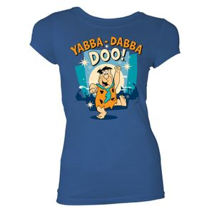 [The Flintstones: Women's Fit T-Shirt: Yabba- Dabba Doo! (Product Image)]