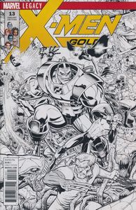 [X-Men: Gold #13 (A Adams Black & White Connecting Variant A Leg) (Product Image)]