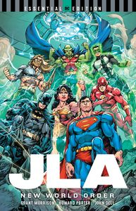 [JLA: New World Order: DC Essential Edition (Product Image)]