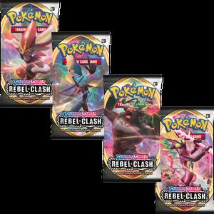 [Pokemon: Sword & Shield 2 Booster: Rebel Clash (Product Image)]