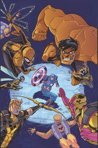 [The cover for Marvel Action: Avengers #10 (Sommariva)]