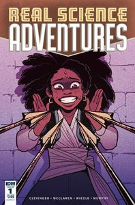 [Real Science Adventures: Nicodemus Job #1 (Cover B Wiedle) (Product Image)]