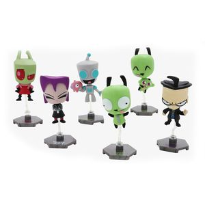 [Invader Zim: Buildable Bobble-Head Figures: Series 1 (Product Image)]