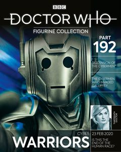 [Doctor Who Figurine Collection #192: Cyber-Warrior Ascension Of The Cybermen (Product Image)]