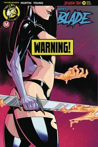 [Vampblade: Season Two #11 (Cover D Federhenn Risque) (Product Image)]