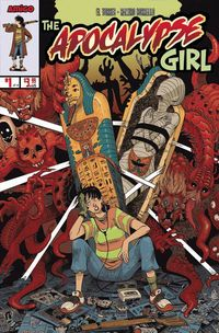 [The cover for Apocalypse Girl #1]