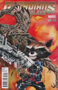 [Guardians Of The Galaxy #21 (Rocket Raccoon & Groot Variant) (Product Image)]