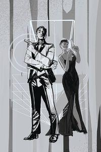 [James Bond #4 (Richardson Greyscale Variant) (Product Image)]
