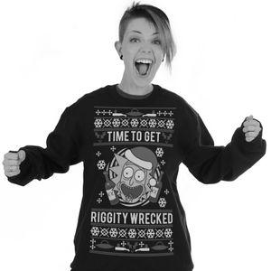 [Rick & Morty: Sweatshirt: Christmas Jumper (Product Image)]