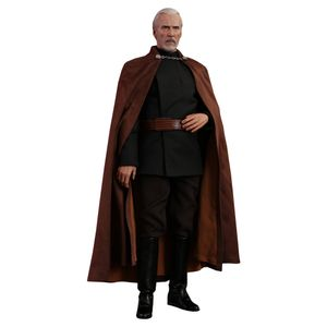 [Star Wars: Attack Of The Clones: Hot Toys Action Figure: Count Dooku (Product Image)]