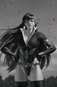 [Vampirella: Dark Powers #3 (Yoon Black & White Virgin Variant) (Product Image)]