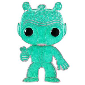 [Star Wars: Loungefly Large Enamel Pop! Pin: Greedo (Green Glitter Chase Variant) (Product Image)]