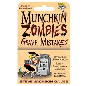 [Munchkin Zombies: Grave Mistakes (Product Image)]