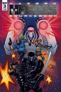 [Hasbro Heroes: Sourcebook #3 (Cover B Lotfi) (Product Image)]