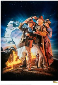 [Back To The Future Part III: Limited Edition Print: One Sheet (Product Image)]