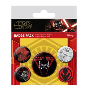 [Star Wars: The Rise Of Skywalker: Badge Pack: Sith (Product Image)]
