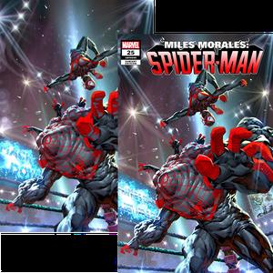 [Miles Morales: Spider-Man #25 (Kael Ngu Variant Set) (Product Image)]