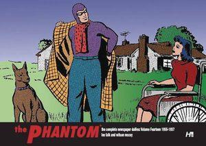 [Phantom: Complete Dailies: Volume 14 1956 -1957 (Hardcover) (Product Image)]