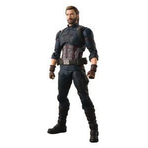 [Avengers: Infinity War: SH Figuarts Action Figure: Captain America (Product Image)]
