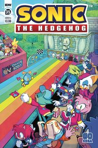 [Sonic The Hedgehog #35 (Cover A Hammerstrom) (Product Image)]