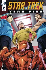 [Star Trek: Year Five #7 (Cover A Thompson) (Product Image)]