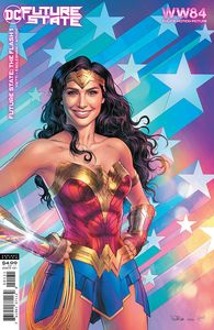 [Future State: The Flash #1 (Cover C Wonder Woman 1984 Nicola Scott Card Stock Variant) (Product Image)]