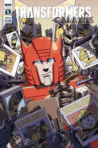 [Transformers: Galaxies #5 (Cover A Milne) (Product Image)]