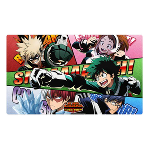 [My Hero Academia: Collectible Card Game: Playmat: Series 2: Crimson Rampage: Go Beyond! (Product Image)]