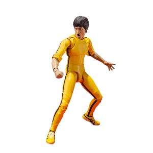 [SH Figuarts: Bruce Lee Yellow Suit (Product Image)]
