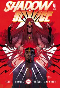 [The cover for Shadow Service #4 (Cover A Howell)]