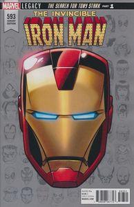 [Invincible Iron Man #593 (Legacy Headshot Variant Leg) (Product Image)]