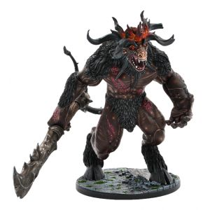 [D&D Collector's Series: Miniature: Descent Into Avernus: Baphomet (Product Image)]