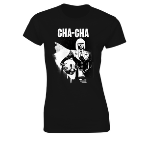 [The Umbrella Academy: Women's Fit T-Shirt: Cha Cha By Gabriel Ba (Product Image)]